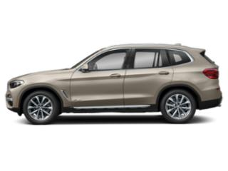 Sunstone Metallic 2019 BMW X3 Pictures X3 M40i Sports Activity Vehicle photos side view