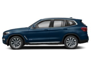 Phytonic Blue Metallic 2019 BMW X3 Pictures X3 xDrive30i Sports Activity Vehicle photos side view