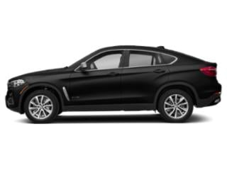 Black Sapphire Metallic 2019 BMW X6 Pictures X6 xDrive35i Sports Activity Coupe photos side view