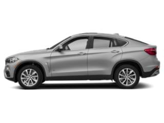 Pearl Silver Metallic 2019 BMW X6 Pictures X6 xDrive35i Sports Activity Coupe photos side view