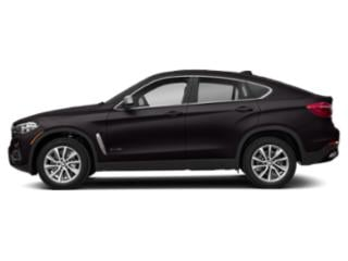 Ruby Black Metallic 2019 BMW X6 Pictures X6 xDrive35i Sports Activity Coupe photos side view