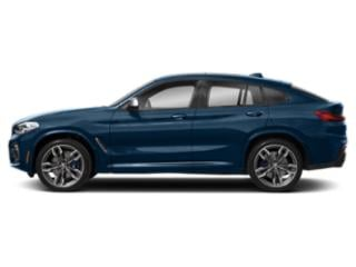 Phytonic Blue Metallic 2019 BMW X4 Pictures X4 M40i Sports Activity Coupe photos side view