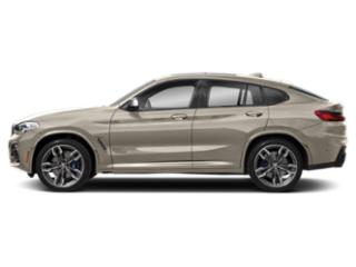 Sunstone Metallic 2019 BMW X4 Pictures X4 M40i Sports Activity Coupe photos side view