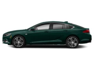 Carrageen Metallic 2019 Buick Regal Sportback Pictures Regal Sportback 4dr Sdn Preferred II FWD photos side view