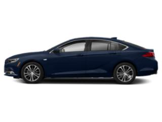 Dark Moon Blue Metallic 2019 Buick Regal Sportback Pictures Regal Sportback 4dr Sdn Preferred II FWD photos side view
