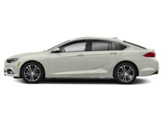 White Frost Tricoat 2019 Buick Regal Sportback Pictures Regal Sportback 4dr Sdn Preferred II FWD photos side view