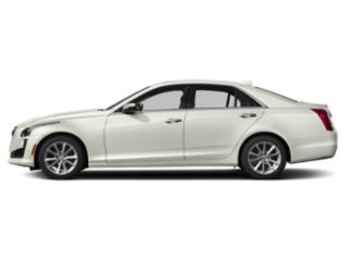 Crystal White Tricoat 2019 Cadillac CTS Sedan Pictures CTS Sedan 4dr Sdn 2.0L Turbo Luxury RWD photos side view