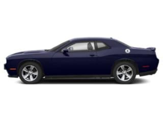Indigo Blue 2019 Dodge Challenger Pictures Challenger SXT AWD photos side view