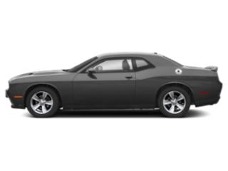 Destroyer Gray Clearcoat 2019 Dodge Challenger Pictures Challenger SXT AWD photos side view