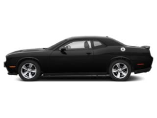 Pitch Black Clearcoat 2019 Dodge Challenger Pictures Challenger R/T RWD photos side view