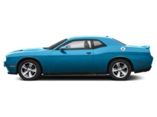 B5 Blue Pearlcoat 2019 Dodge Challenger Pictures Challenger SXT RWD photos side view