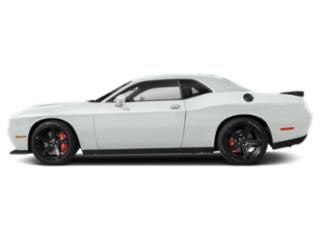 White Knuckle Clearcoat 2019 Dodge Challenger Pictures Challenger SXT RWD photos side view