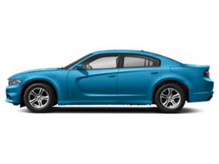 B5 Blue Pearlcoat 2019 Dodge Charger Pictures Charger SXT AWD photos side view