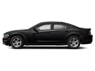 Pitch Black Clearcoat 2019 Dodge Charger Pictures Charger SXT AWD photos side view