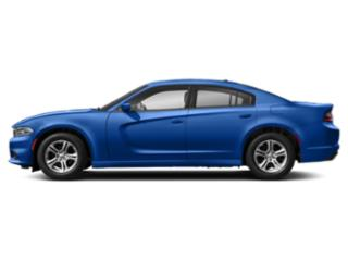 Indigo Blue 2019 Dodge Charger Pictures Charger SXT AWD photos side view