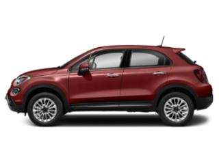 Rosso Passione (Red Hypnotique Clear Coat) 2019 FIAT 500X Pictures 500X Pop AWD photos side view