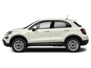 Bianco Gelato (White Clear Coat) 2019 FIAT 500X Pictures 500X Pop AWD photos side view