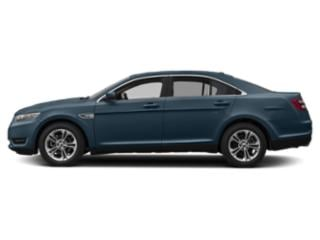 Blue Metallic 2019 Ford Taurus Pictures Taurus SE FWD photos side view