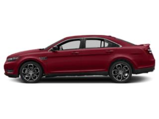 Ruby Red Metallic Tinted Clearcoat 2019 Ford Taurus Pictures Taurus SEL FWD photos side view