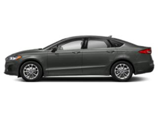 Magnetic Metallic 2019 Ford Fusion Pictures Fusion SEL FWD photos side view