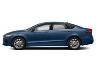 Blue Metallic 2019 Ford Fusion Pictures Fusion SEL FWD photos side view
