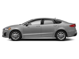 Ingot Silver Metallic 2019 Ford Fusion Pictures Fusion SEL FWD photos side view