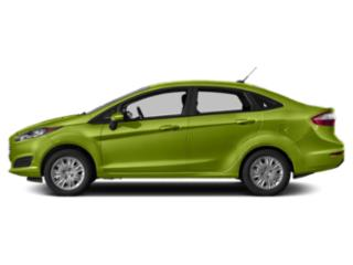 Outrageous Green Metallic Tinted Clearcoat 2019 Ford Fiesta Pictures Fiesta SE Sedan photos side view