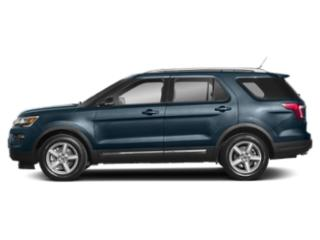 Blue Metallic 2019 Ford Explorer Pictures Explorer Limited FWD photos side view
