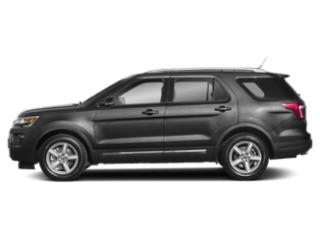 Magnetic Metallic 2019 Ford Explorer Pictures Explorer Limited FWD photos side view