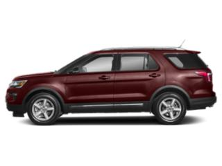 Burgundy Velvet Metallic Tinted Clearcoat 2019 Ford Explorer Pictures Explorer Limited FWD photos side view