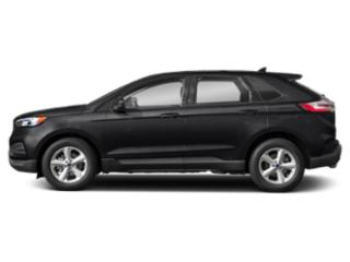 Agate Black Metallic 2019 Ford Edge Pictures Edge SE FWD photos side view