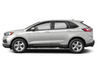 Oxford White 2019 Ford Edge Pictures Edge SE FWD photos side view