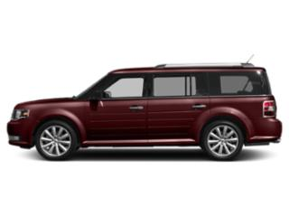 Burgundy Velvet Metallic Tinted Clearcoat 2019 Ford Flex Pictures Flex SEL AWD photos side view