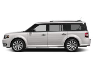 White Platinum Metallic Tri-Coat 2019 Ford Flex Pictures Flex SEL AWD photos side view
