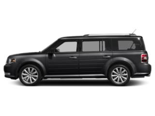 Agate Black 2019 Ford Flex Pictures Flex SEL AWD photos side view