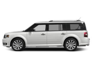 Oxford White 2019 Ford Flex Pictures Flex SEL AWD photos side view