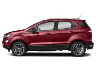 Ruby Red Metallic Tinted Clearcoat 2019 Ford EcoSport Pictures EcoSport Titanium 4WD photos side view