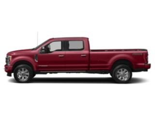 Ruby Red Metallic Tinted Clearcoat 2019 Ford Super Duty F-250 SRW Pictures Super Duty F-250 SRW Limited 4WD Crew Cab 8' Box photos side view