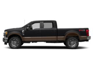 Agate Black Metallic 2019 Ford Super Duty F-250 SRW Pictures Super Duty F-250 SRW King Ranch 4WD Crew Cab 8' Box photos side view