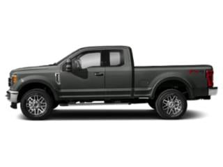 Magnetic Metallic 2019 Ford Super Duty F-250 SRW Pictures Super Duty F-250 SRW LARIAT 4WD SuperCab 8' Box photos side view