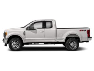 White Platinum Metallic Tri-Coat 2019 Ford Super Duty F-250 SRW Pictures Super Duty F-250 SRW LARIAT 4WD SuperCab 8' Box photos side view