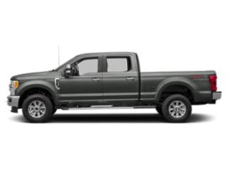 Magnetic Metallic 2019 Ford Super Duty F-250 SRW Pictures Super Duty F-250 SRW XLT 2WD Crew Cab 8' Box photos side view