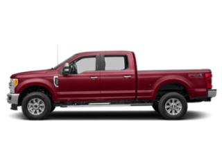 Ruby Red Metallic Tinted Clearcoat 2019 Ford Super Duty F-250 SRW Pictures Super Duty F-250 SRW XLT 2WD Crew Cab 8' Box photos side view