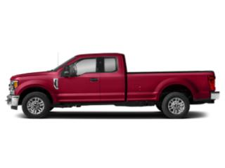 Vermillion Red 2019 Ford Super Duty F-250 SRW Pictures Super Duty F-250 SRW XLT 2WD SuperCab 6.75' Box photos side view