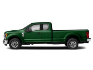 Green 2019 Ford Super Duty F-250 SRW Pictures Super Duty F-250 SRW XLT 2WD SuperCab 6.75' Box photos side view