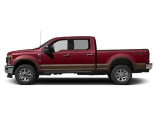 Ruby Red Metallic Tinted Clearcoat 2019 Ford Super Duty F-350 SRW Pictures Super Duty F-350 SRW King Ranch 2WD Crew Cab 8' Box photos side view