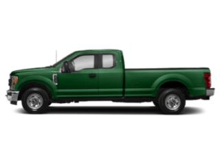 Green 2019 Ford Super Duty F-350 SRW Pictures Super Duty F-350 SRW XL 2WD SuperCab 8' Box photos side view
