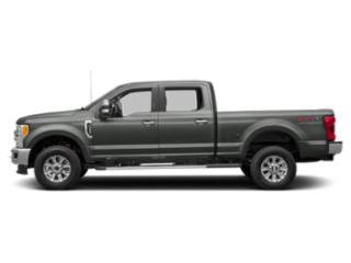 Magnetic Metallic 2019 Ford Super Duty F-350 SRW Pictures Super Duty F-350 SRW XLT 2WD Crew Cab 8' Box photos side view