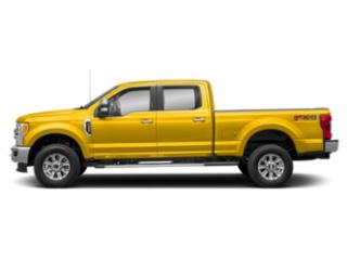Yellow 2019 Ford Super Duty F-350 SRW Pictures Super Duty F-350 SRW XLT 2WD Crew Cab 8' Box photos side view