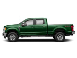 Green 2019 Ford Super Duty F-350 SRW Pictures Super Duty F-350 SRW XLT 2WD Crew Cab 8' Box photos side view